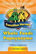 Nature's Sunshine Children's Whole Foods Papayazyme