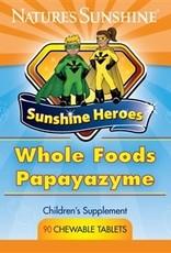 Nature's Sunshine Whole Food Papayazyme (90 chew. tab)