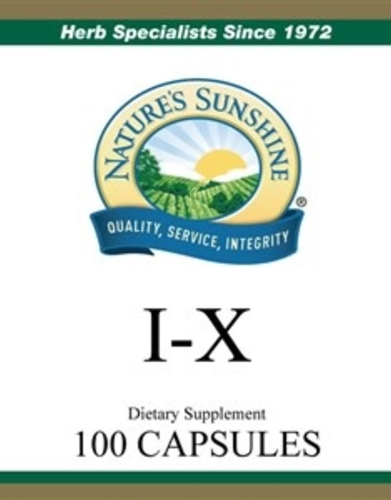 Nature's Sunshine I-X (100 caps)*