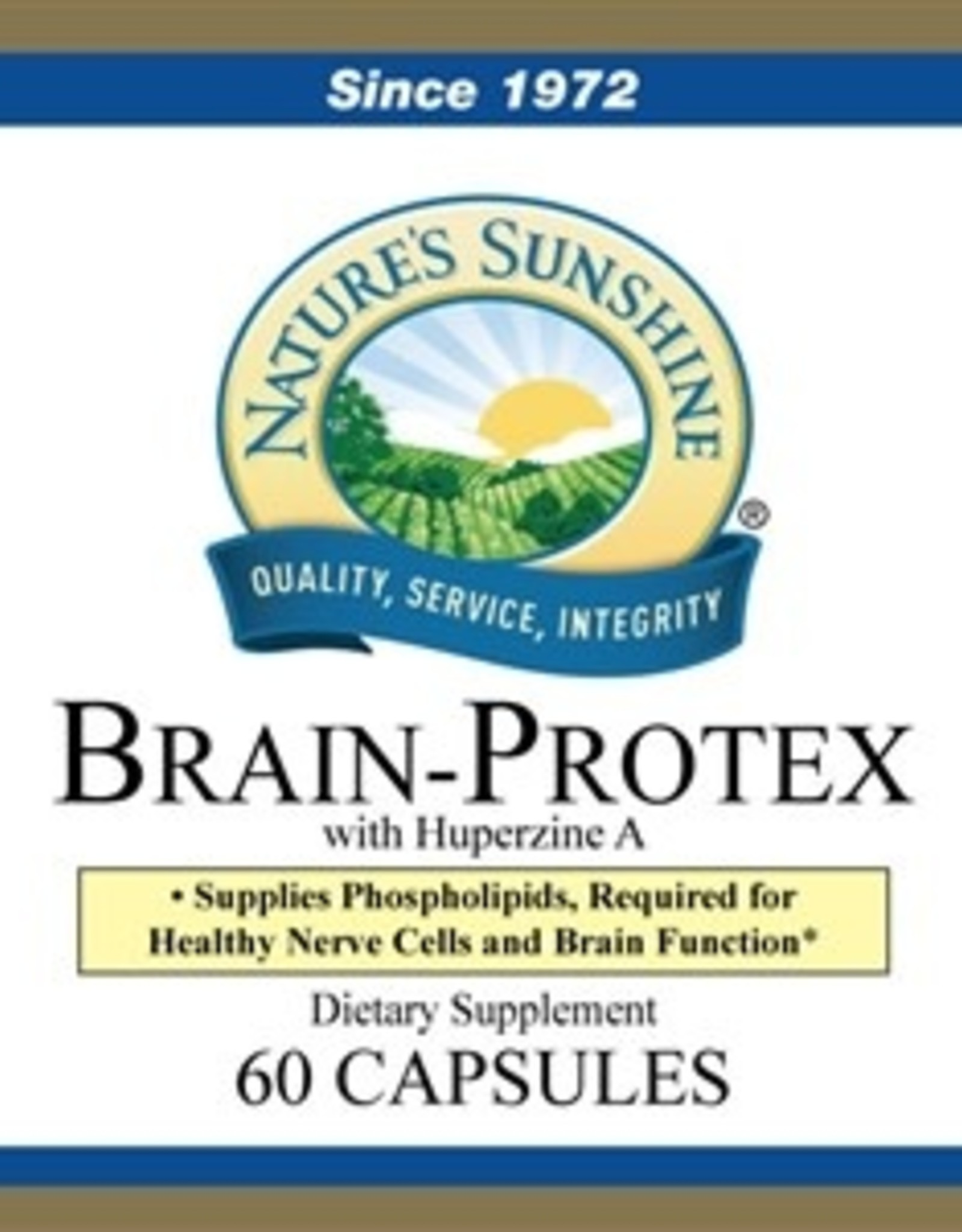 Nature's Sunshine Brain Protex w/Huperzine A (60 caps)