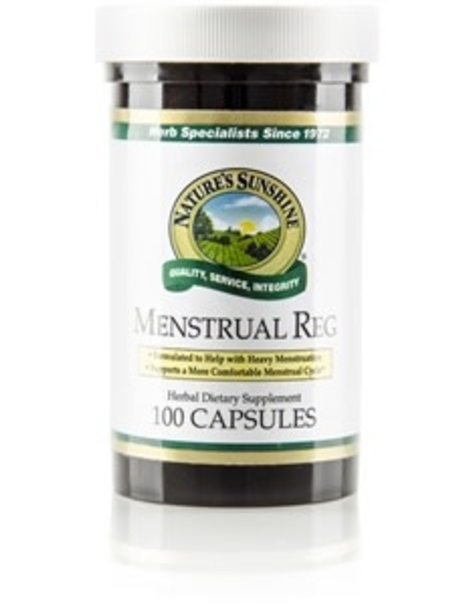 Nature's Sunshine Menstrual Reg (100 caps)