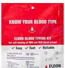 Eldon Biologicals Blood Type Test Kit