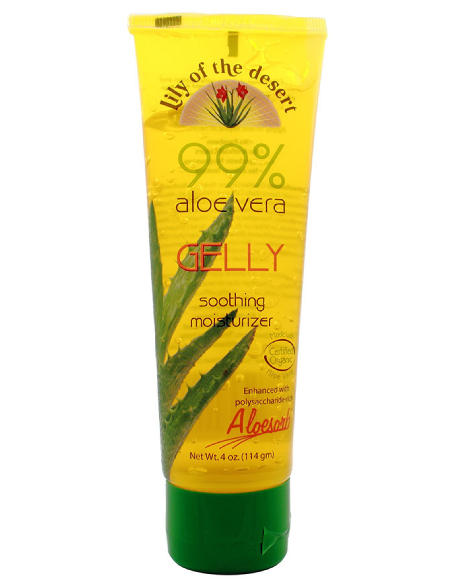 Lily of the Desert Aloe Vera Gelly 4 oz.