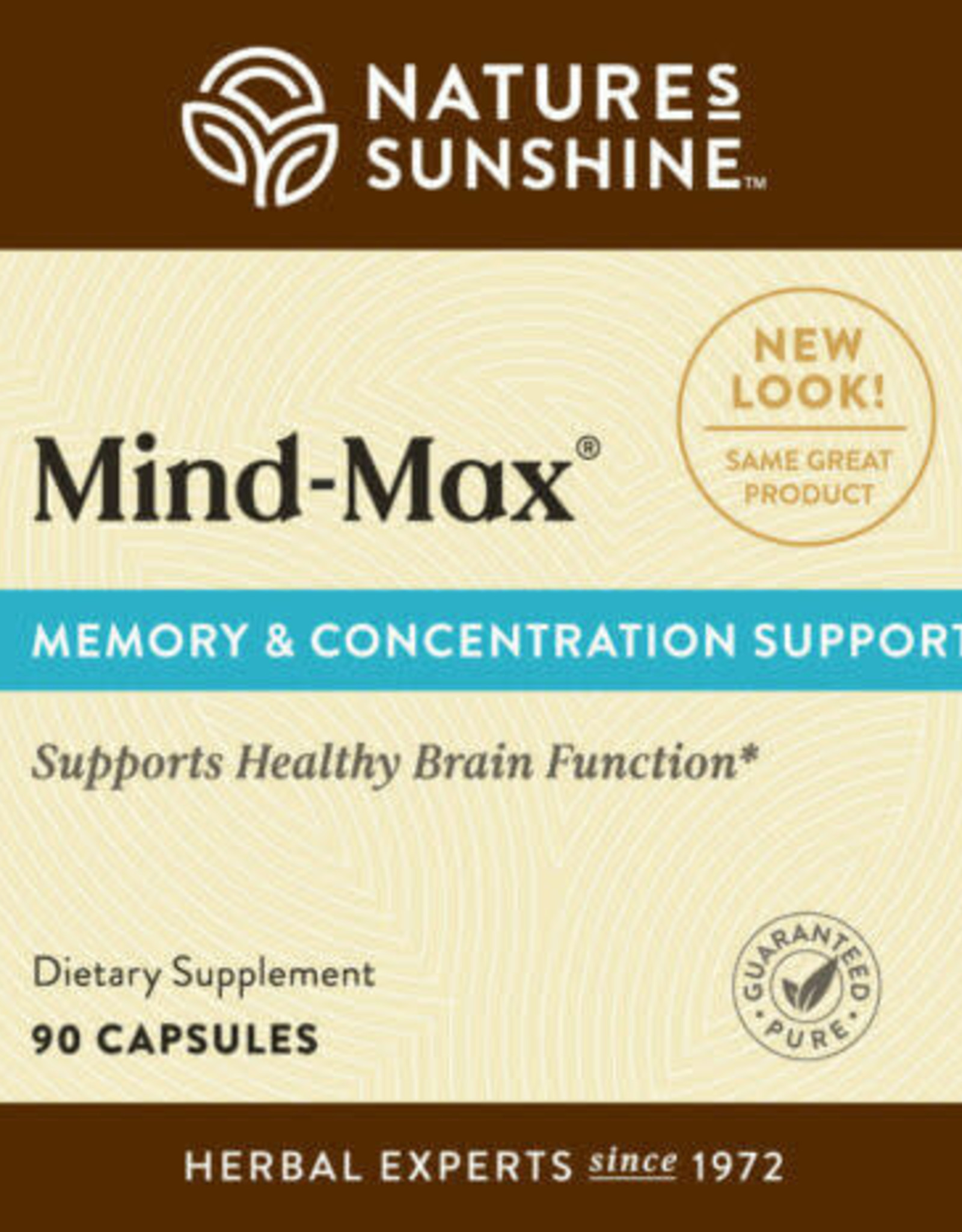 Nature's Sunshine Mind-Max (90 caps)