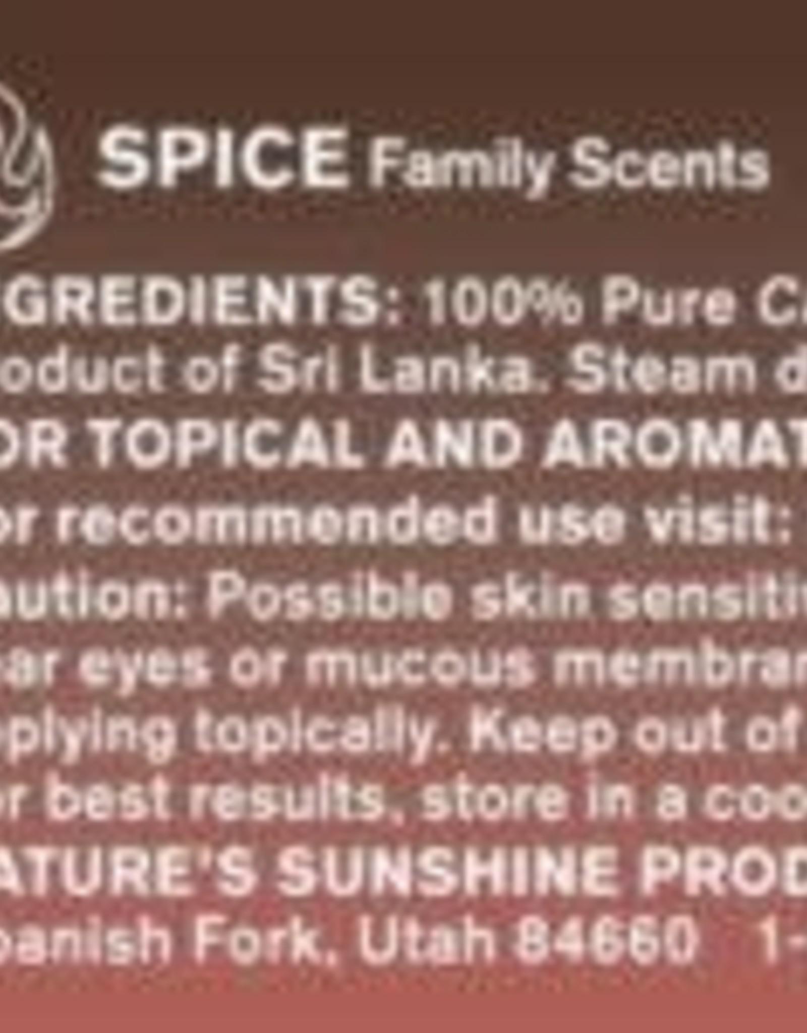 Nature's Sunshine Cinnamon Leaf Oil