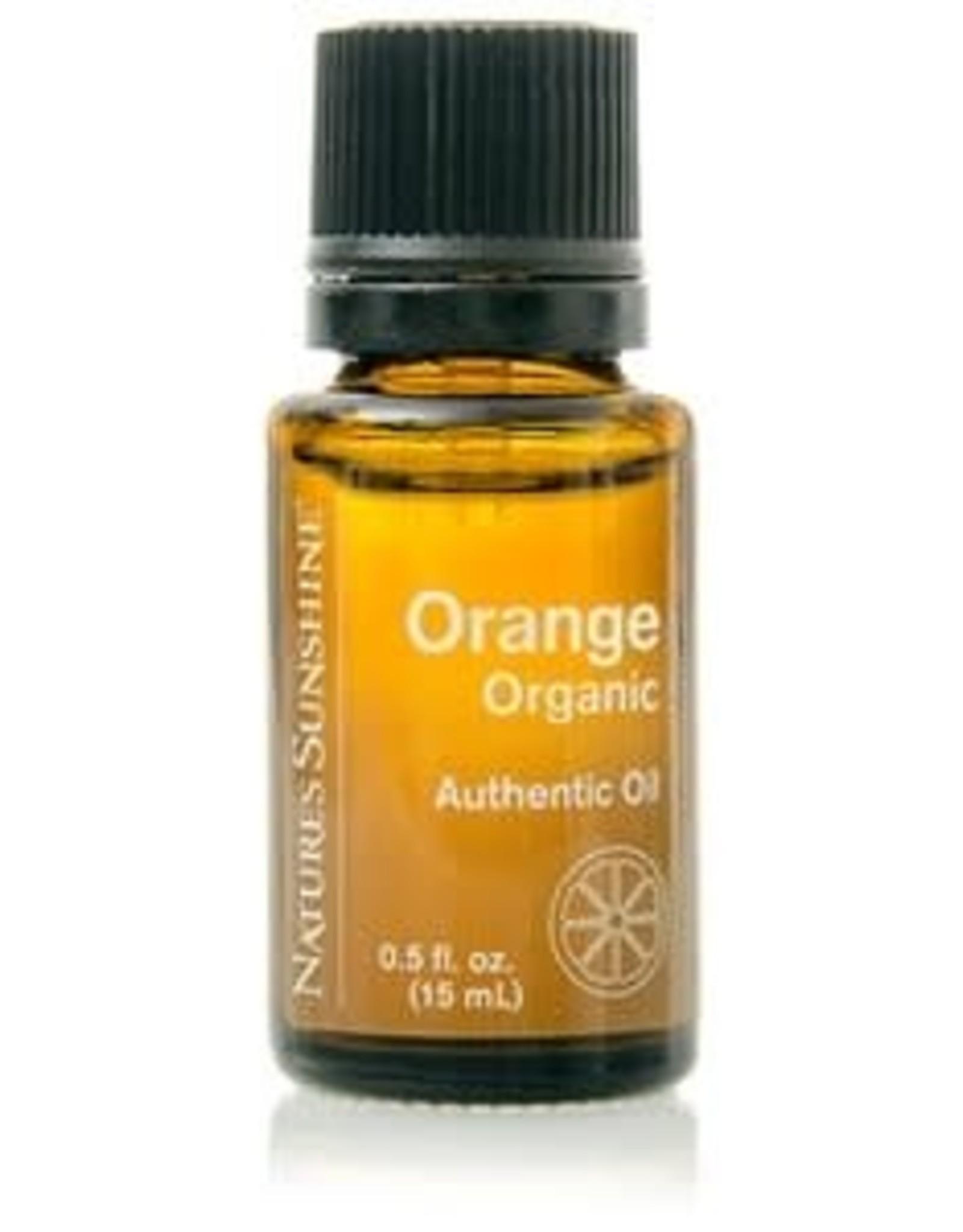 Nature's Sunshine Orange Oil