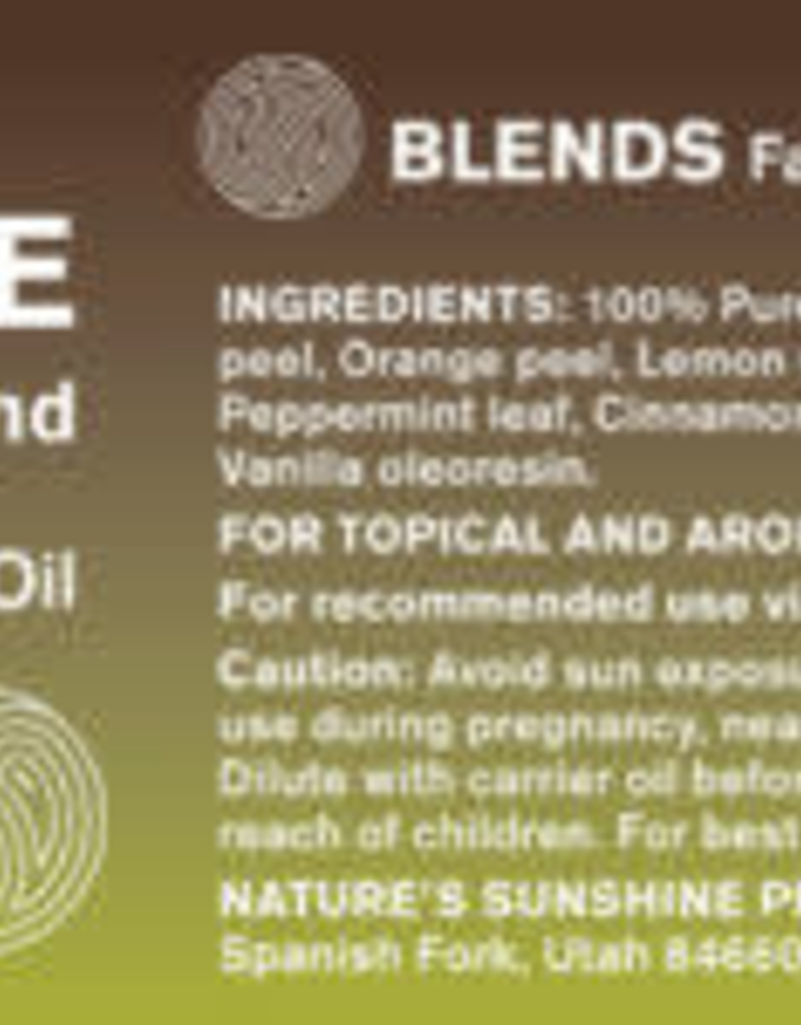 Nature's Sunshine Inspire Uplifting Oil Blend