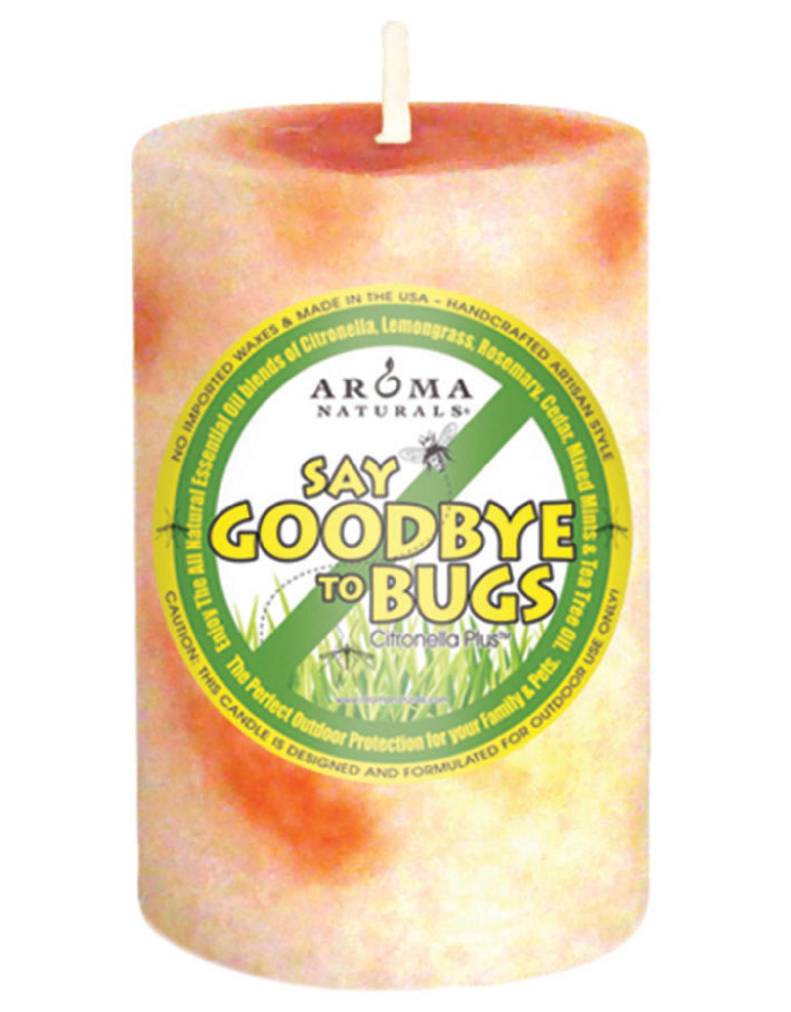 Aroma Naturals Citronella Candle