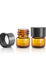 Premium Vials Empty  Amber Bottle (1 mL)