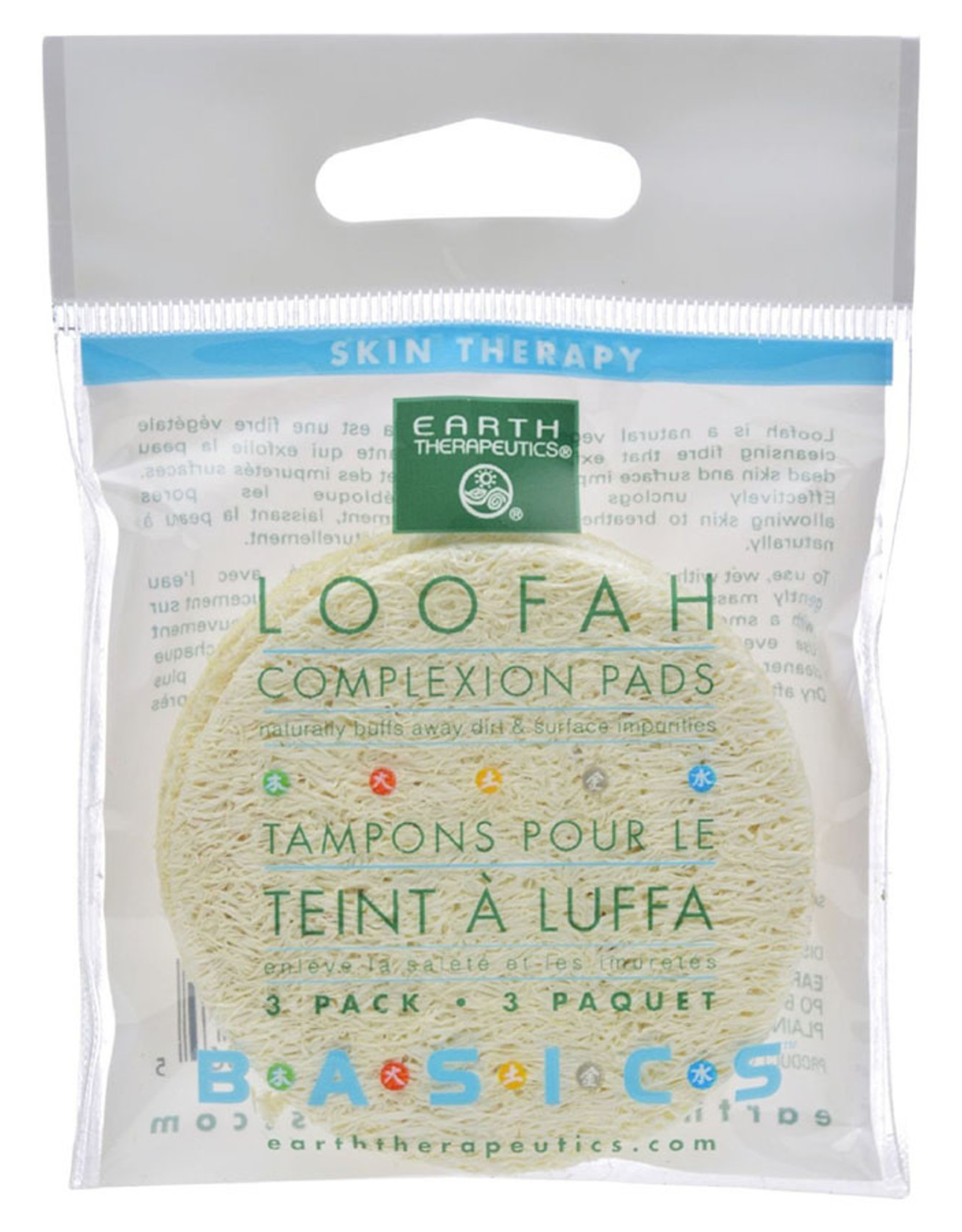 Earth Therapeutics Loofah Complexion Pads (3 Pk.)
