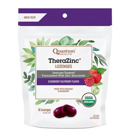 Quantum Health TheraZinc Elderberry Lozenges