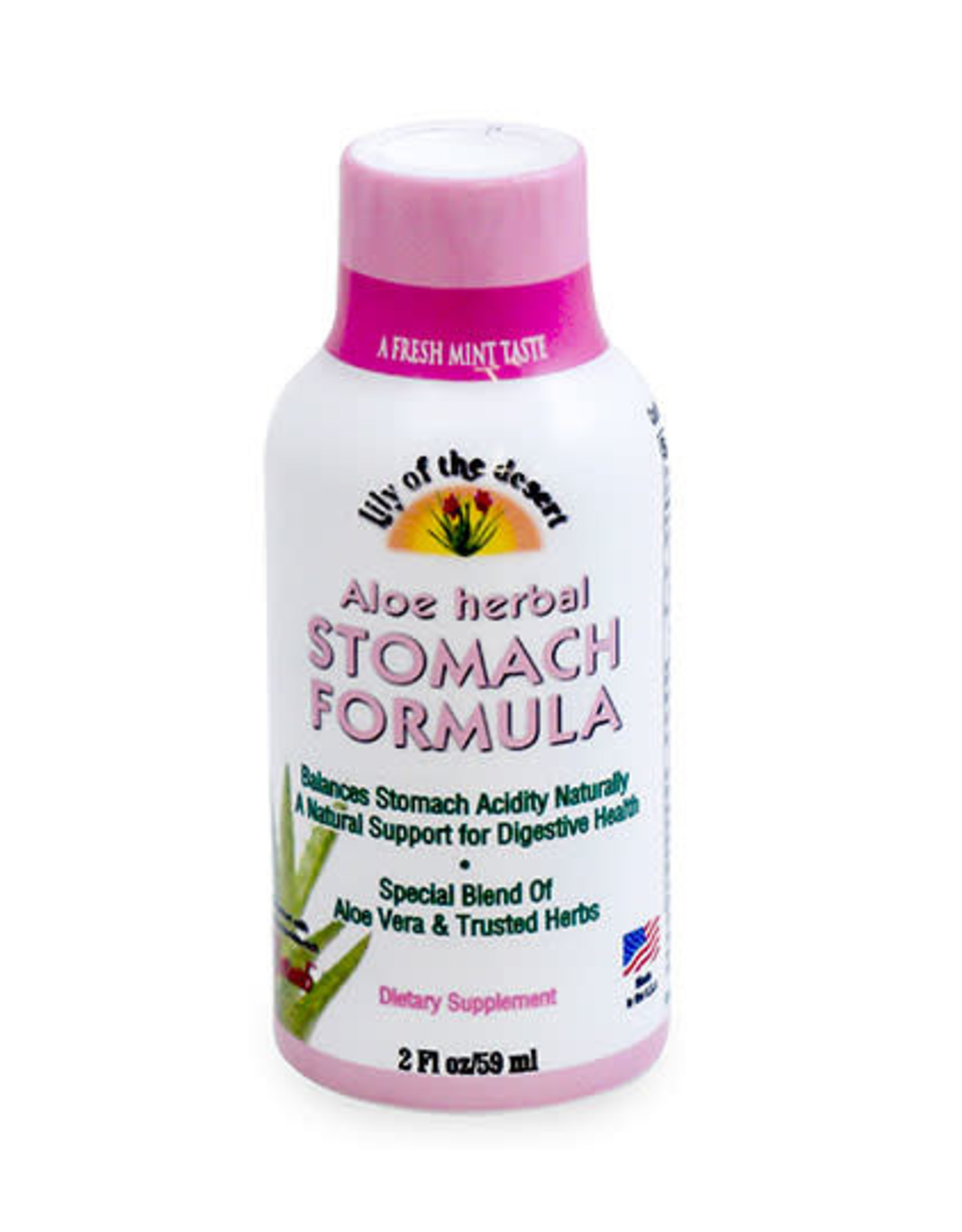 Lily of The Desert Aloe Herbal Stomach Formula 2 oz. Single