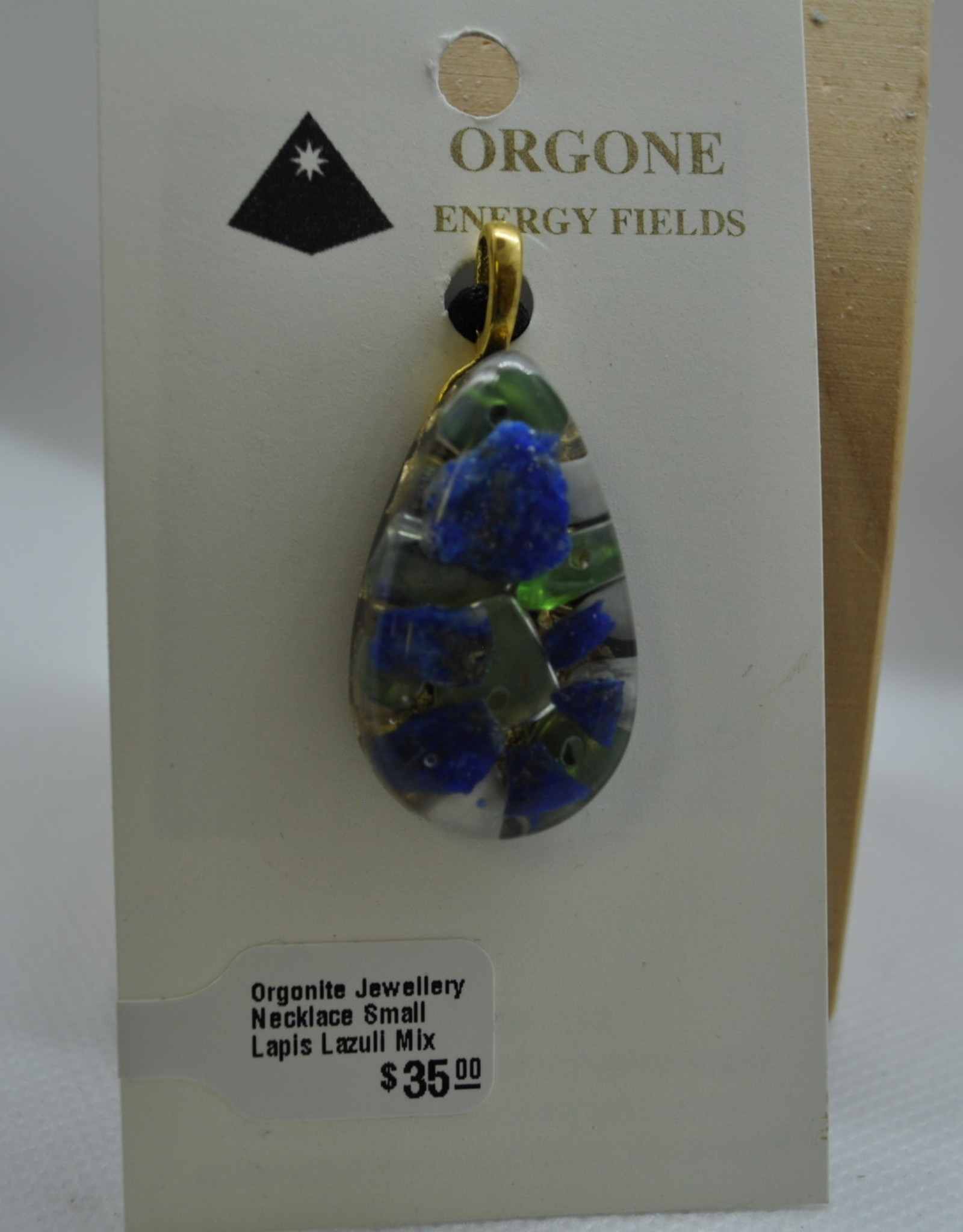 Orgone Energy Fields Small Lapis Lazuli Mix