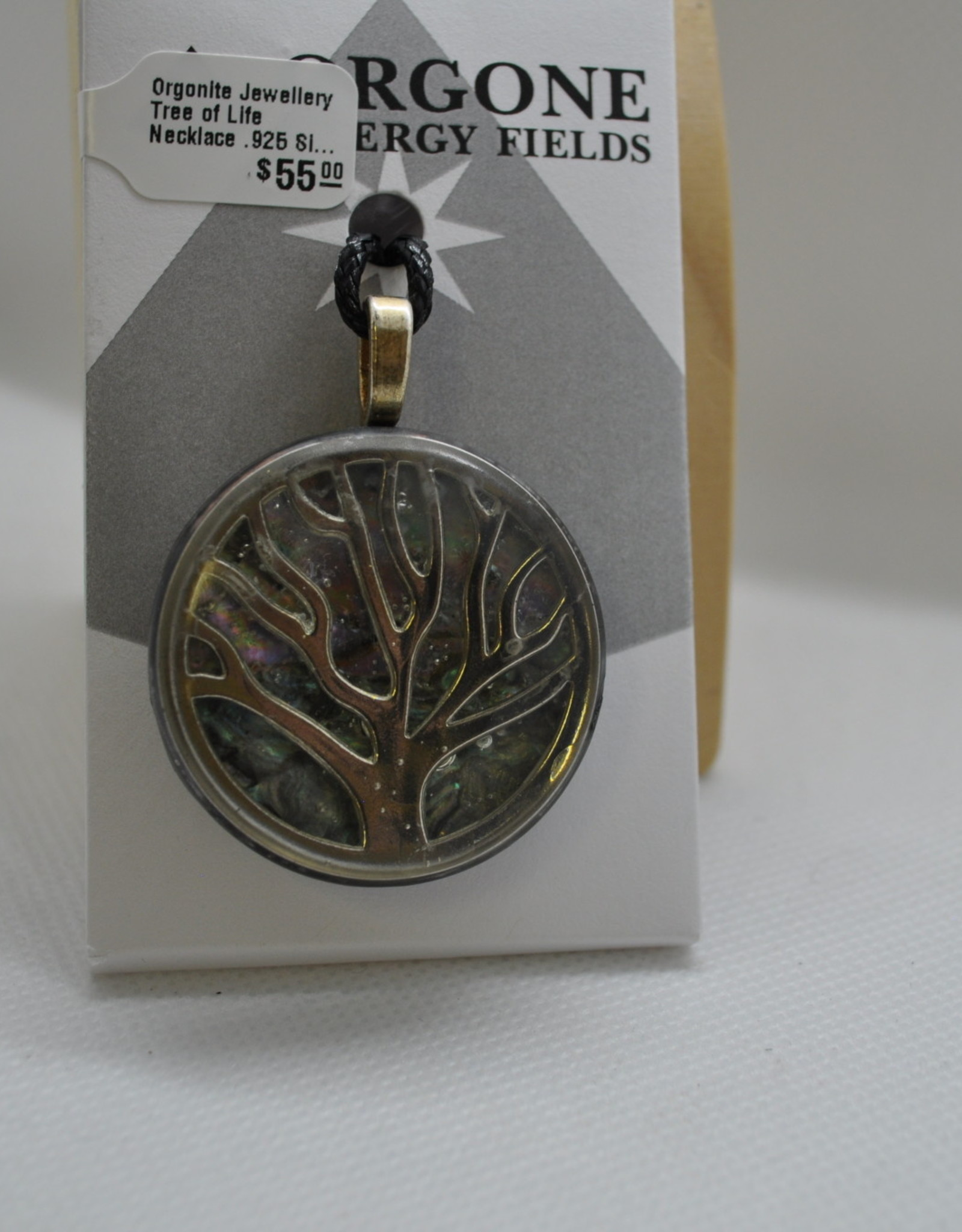 Orgone Energy Fields Tree of Life Silver