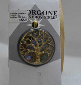 Orgone Energy Fields Tree of Life 18K Gold