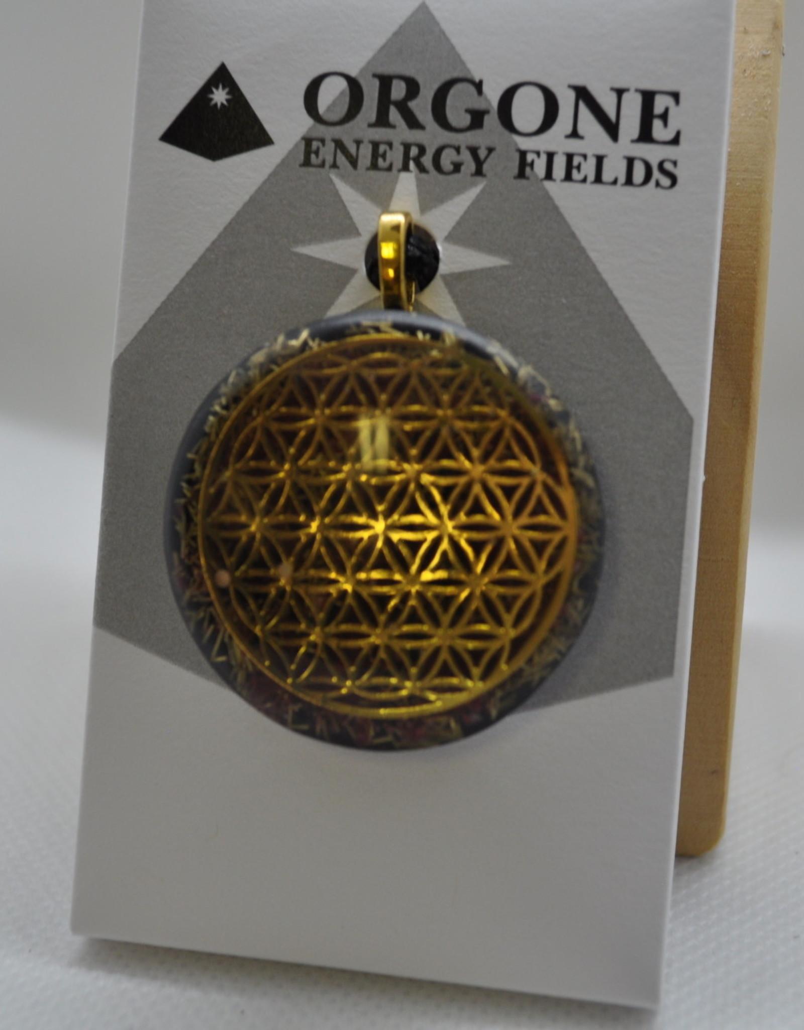 Orgone Energy Fields Gold 18K Pink Thulite