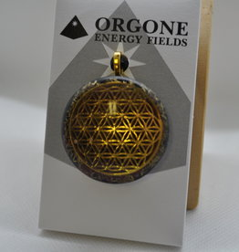 Orgone Energy Fields Gold 18K Pink Thulite