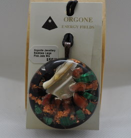 Orgone Energy Fields Large Pink Jade Mix