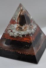 Orgone Energy Fields Smoky Quartz Crystal Large