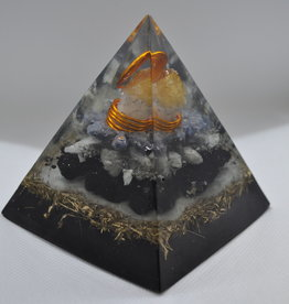 Orgone Energy Fields Citrine Crystal Large