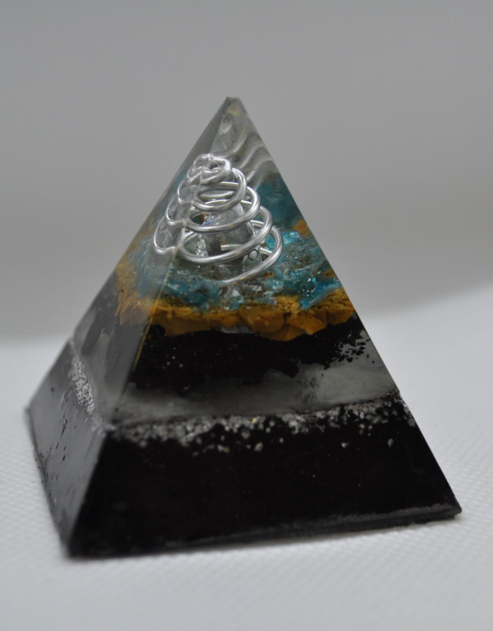 Orgone Energy Fields Aqua Aura Quartz Crystal Medium