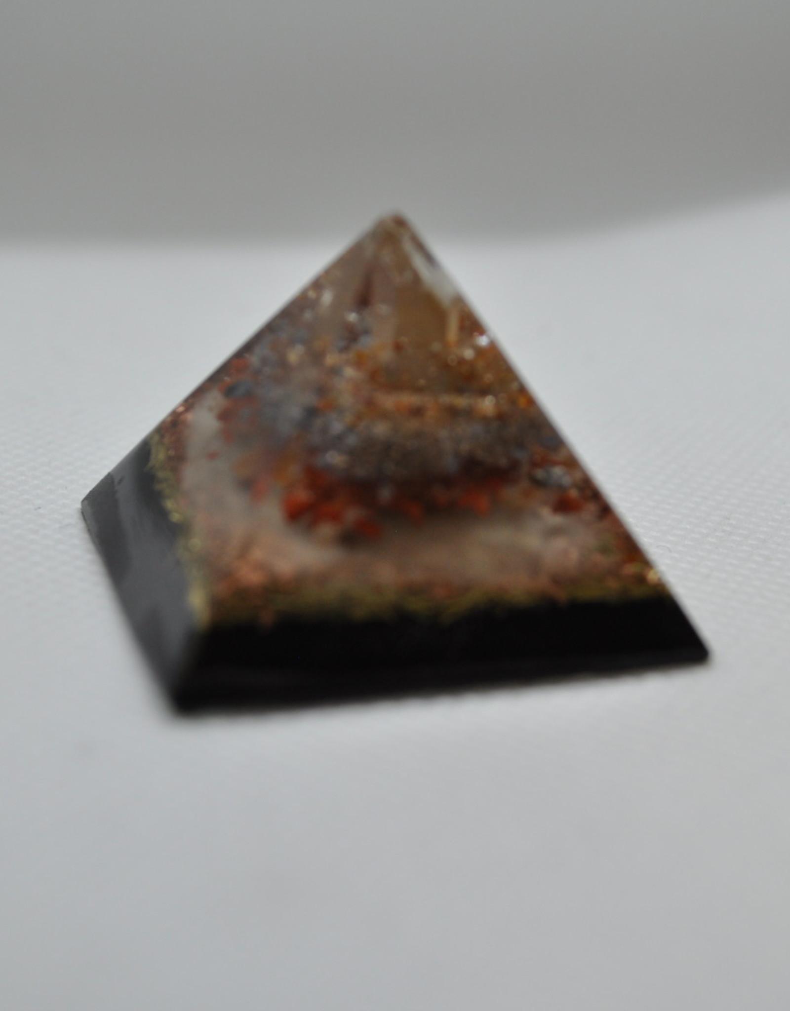 Orgone Energy Fields Tangerine Quartz Crystal