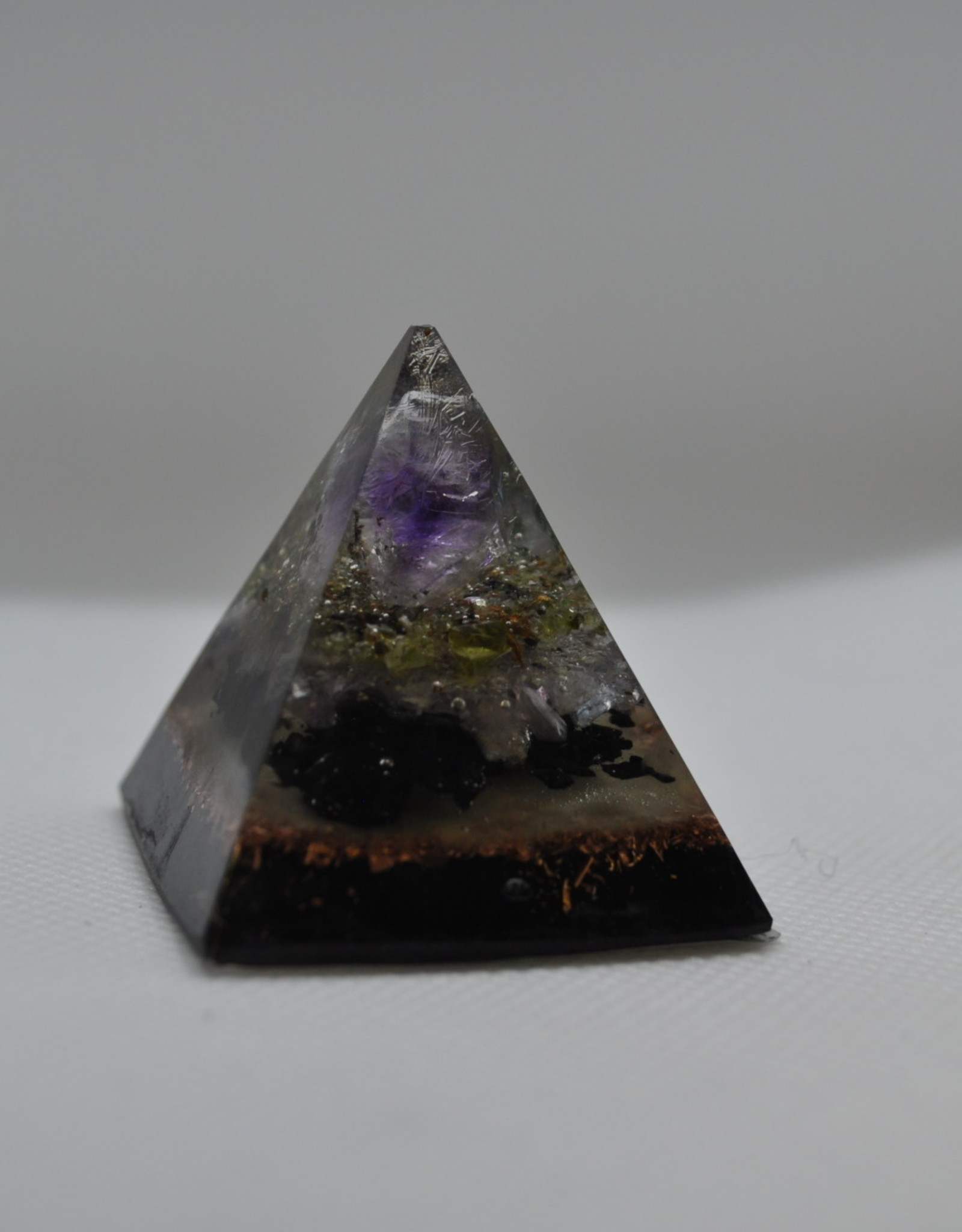 Orgone Energy Fields Amethyst Crystal