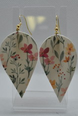 ECLectic Designs White Small Floral Flower Petal
