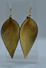 ECLectic Designs Black and Gold Flower Petal