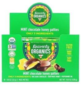 Heavenly Organics Mint Chocolate Honey Pattie (single)