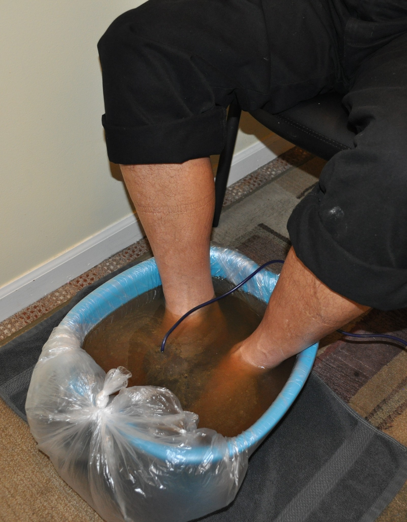 Ionizing Foot Soak