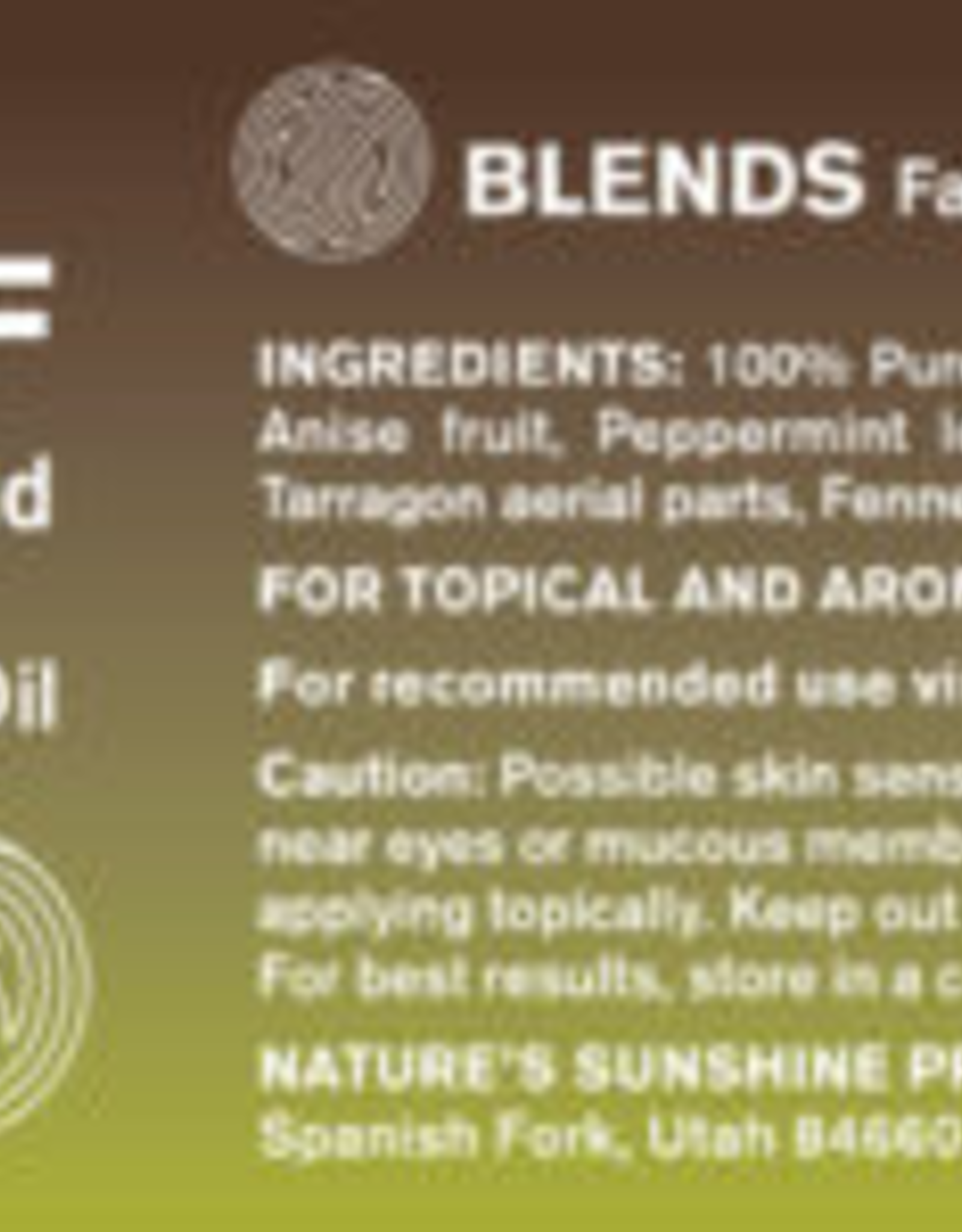 Nature's Sunshine RELIEF Settling Blend Essential Oil (15 ml)