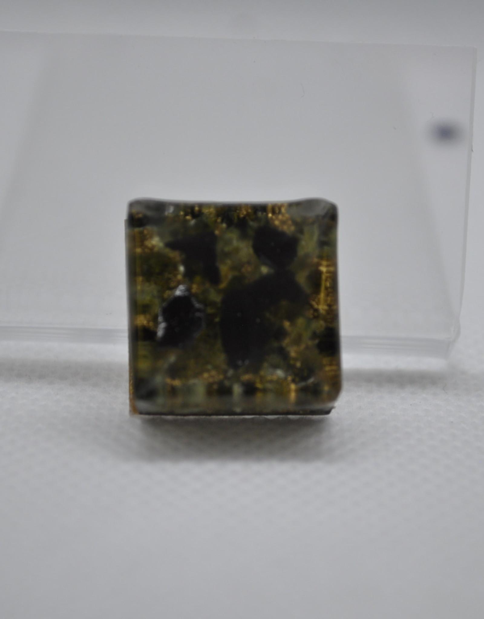 Orgone Energy Fields Orgone Cell Phone Protector   Peridot, Shungite, Brass Shavings