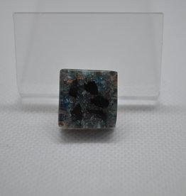Orgone Energy Fields Orgone Cell Phone Protector   Blue Apatite, Shungite, Copper Shavings