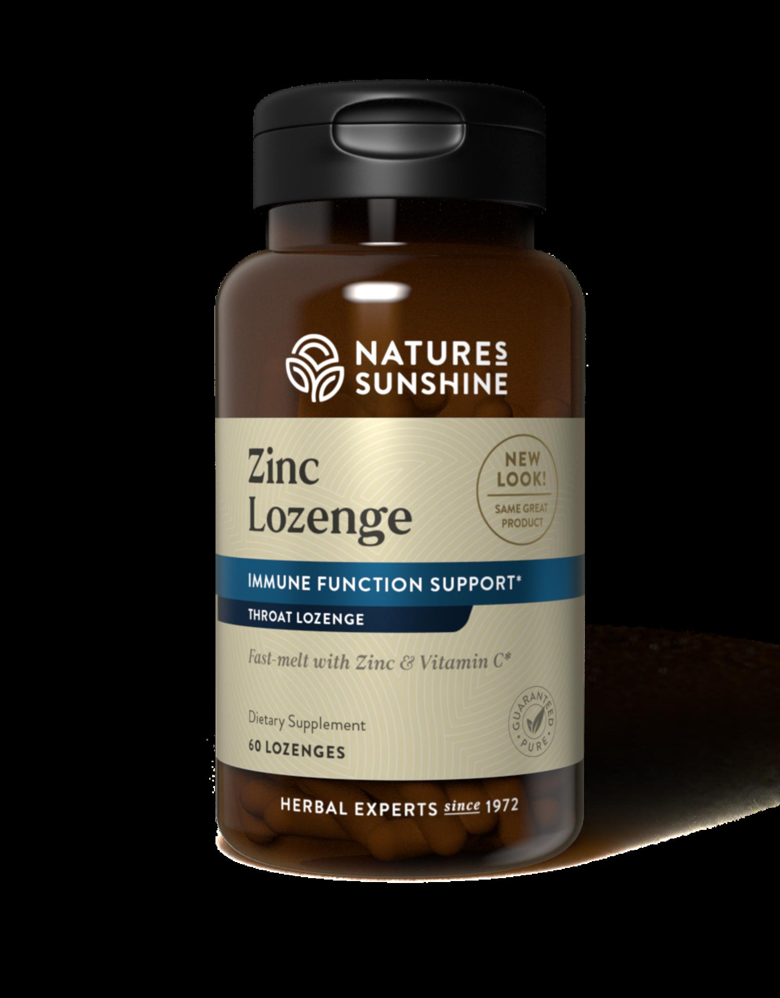 Nature's Sunshine Zinc Lozenge (60 tablets)*