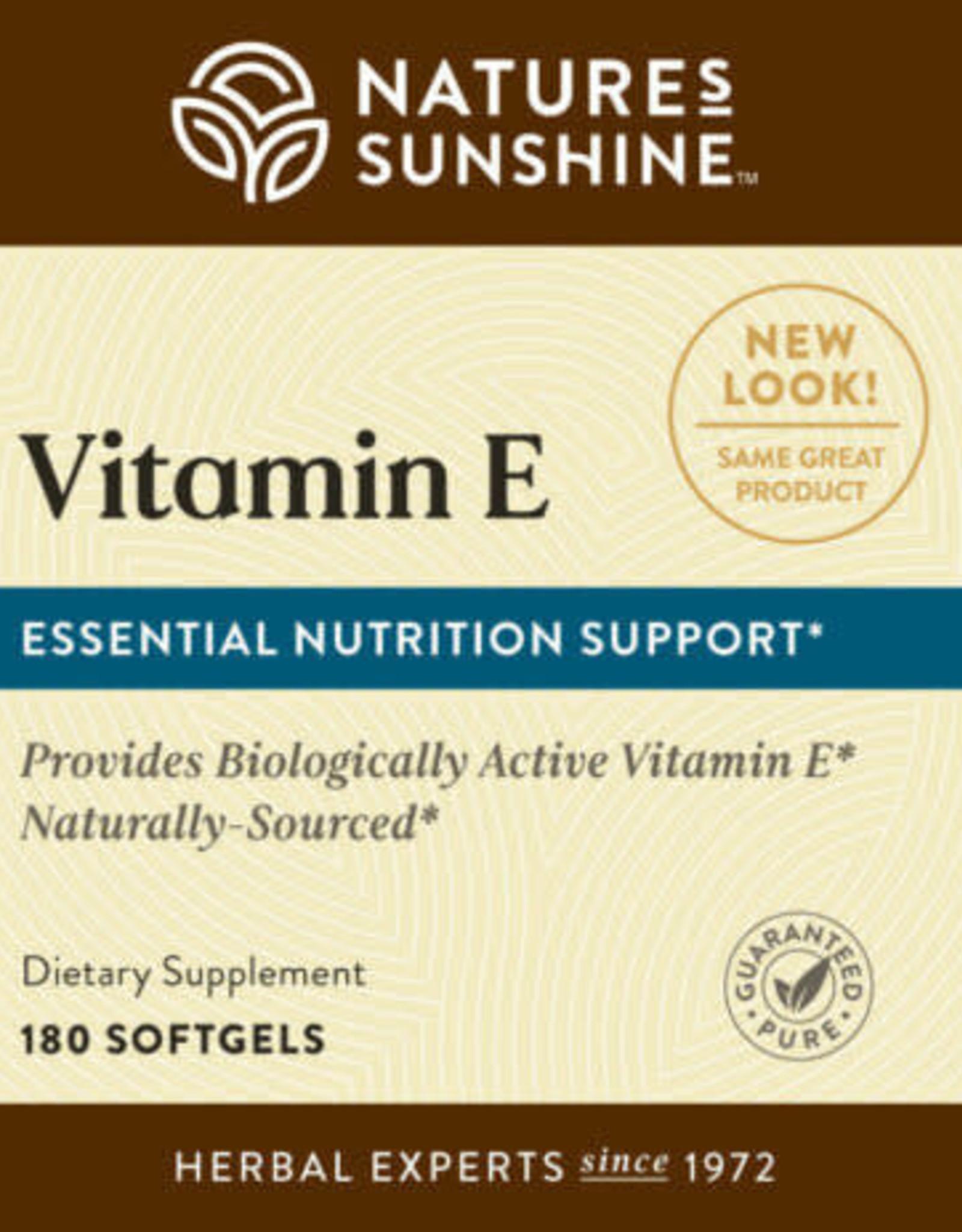 Nature's Sunshine Vitamin E Complete w/ Selenium (60 softgel caps)