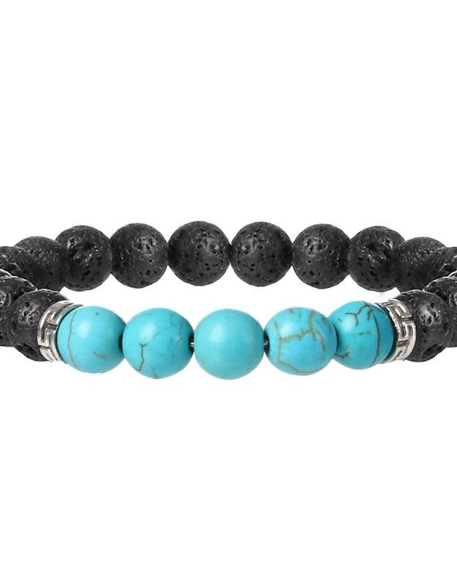 Supplied Chakra Bead with Volcanic Stones Bracelet