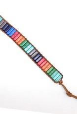 Supplied Retro Colorful Chakra Bracelet