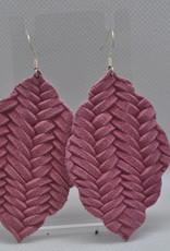 ECLectic Designs Mauve Woven Scallop