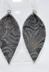 ECLectic Designs Black Pattern Flower Petal