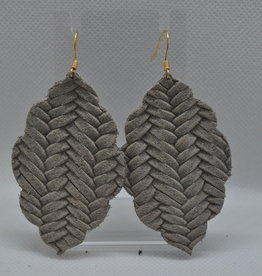 ECLectic Designs Grey Woven Scallop