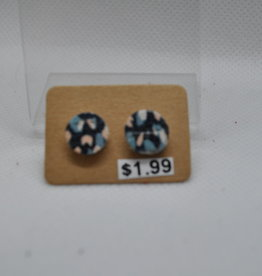 ECLectic Designs Blue, Pink, and White Studs