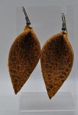 ECLectic Designs Light Brown Textured Flower Petal
