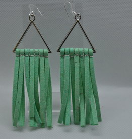 ECLectic Designs Mint Green Triangle Tassel