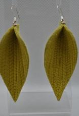 ECLectic Designs Yellow Textured Flower Petal
