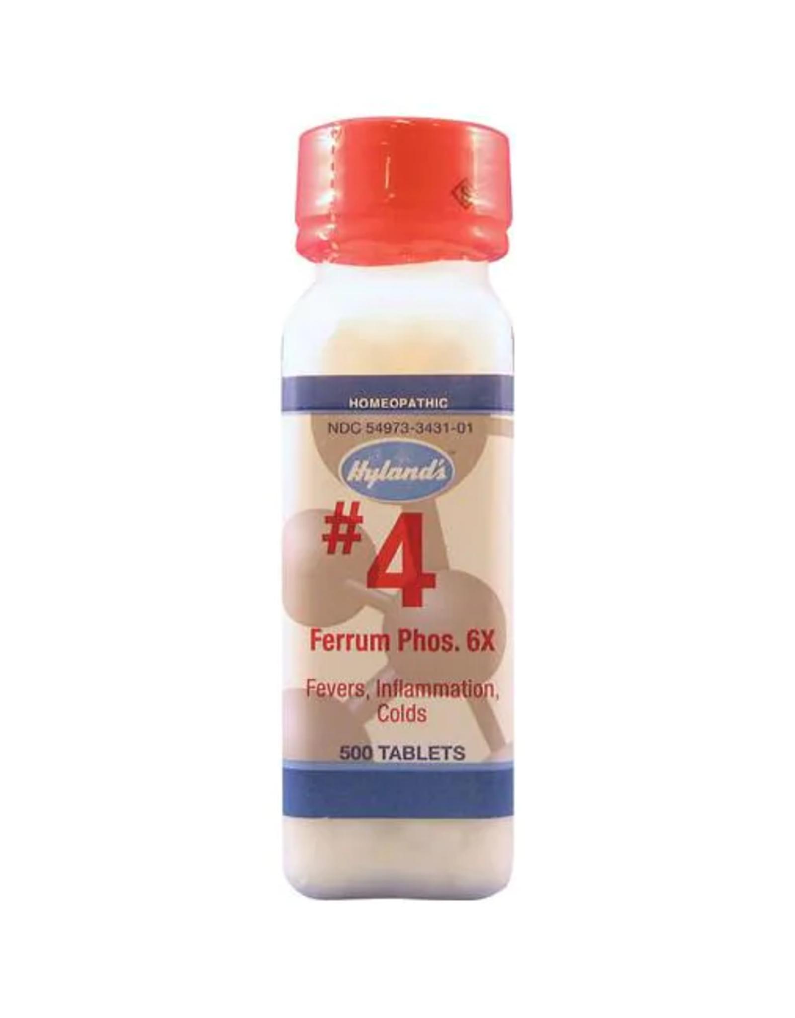 Hyland's #4 Ferrum Phosphoricum 6x