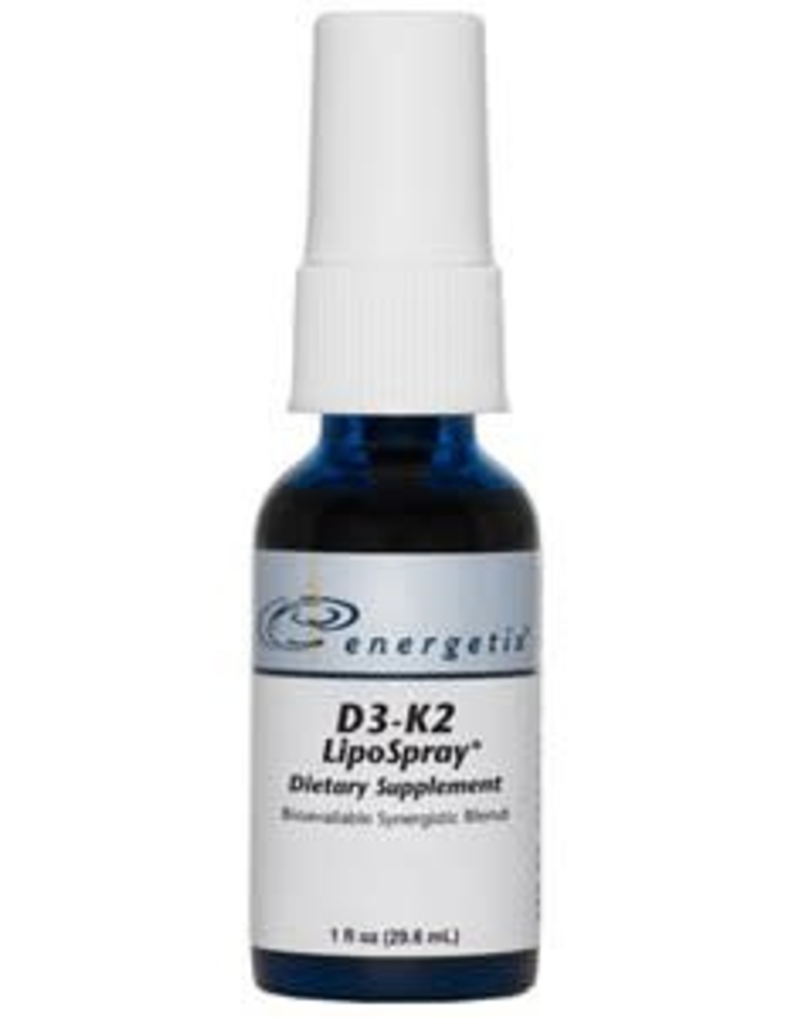 Energetix D3-K2 LipoSpray 1 oz.