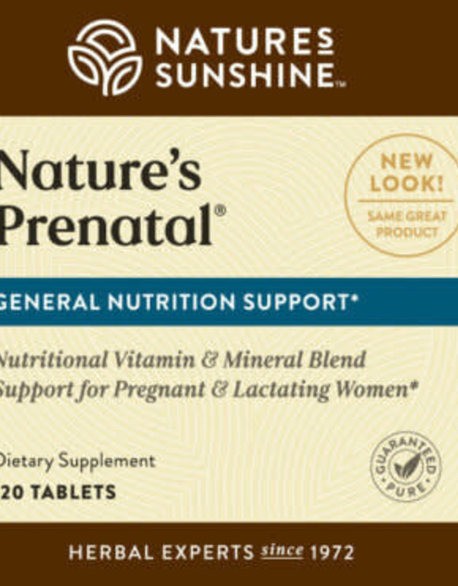 Nature's Sunshine Nature's Prenatal (120 tabs)