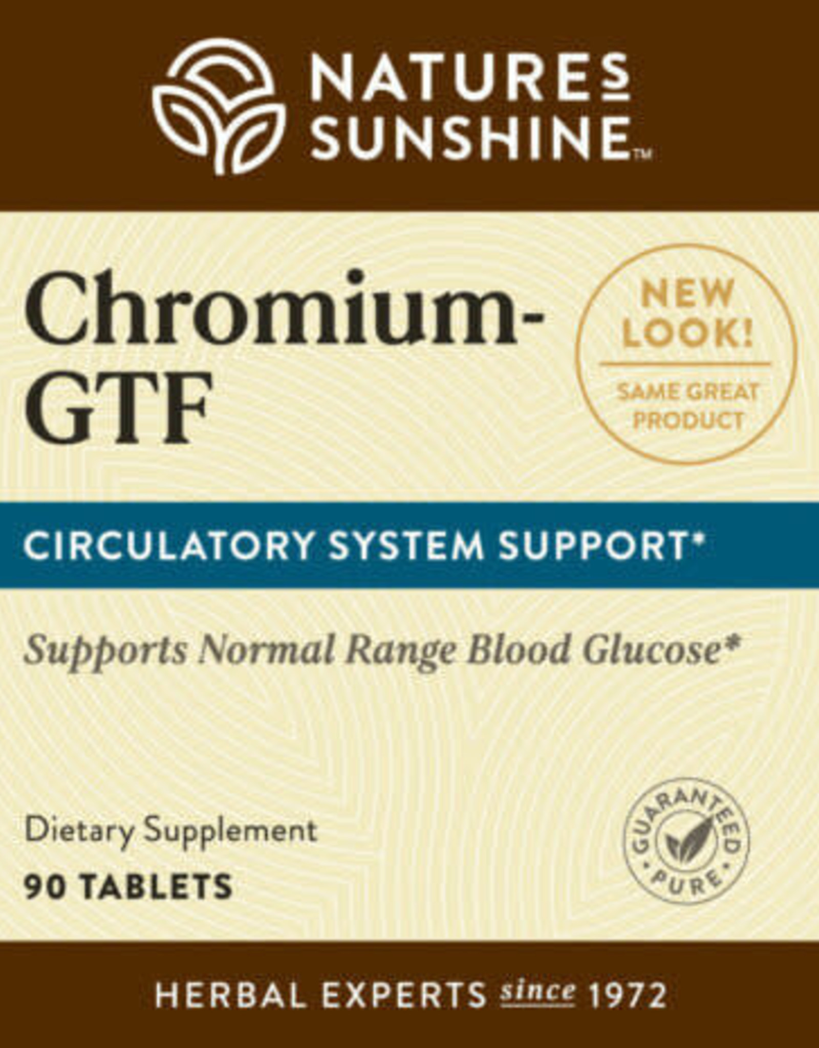 Nature's Sunshine Chromium GTF (90 tabs)