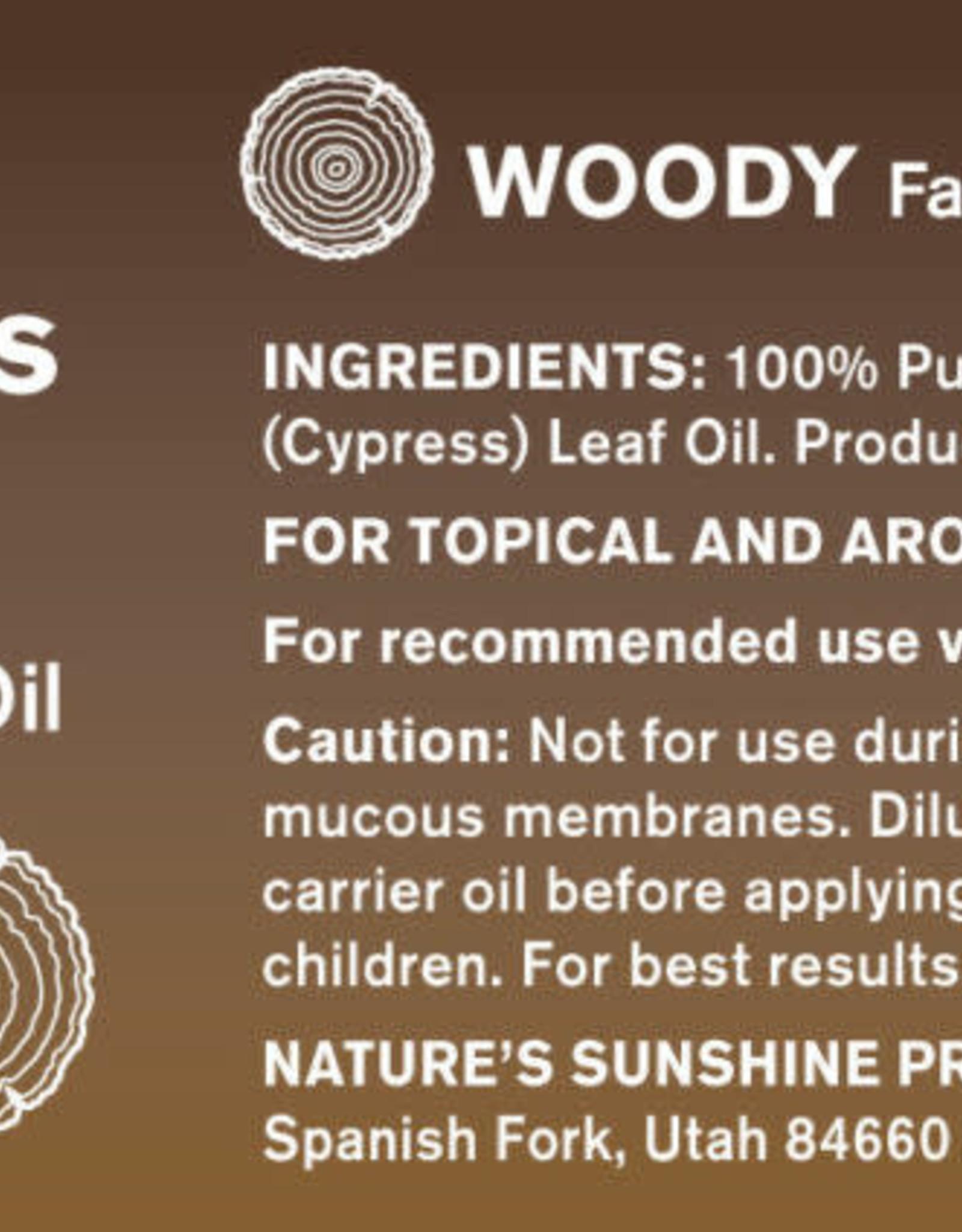 Nature's Sunshine Cypress Oil
